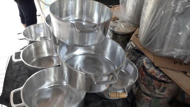 Panelas de alumínio batido Grosso - Foto 5