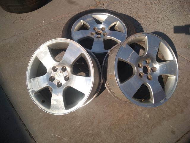 3 rodas Audi Golf Fox aro 16 5x100 - Foto 6