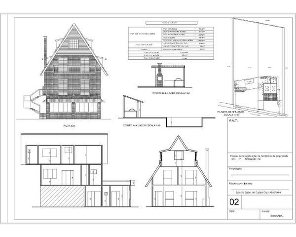SG arquitetura. Projetosprefeitura, proj.complementares, execução obras também pala Caixa - Foto 5