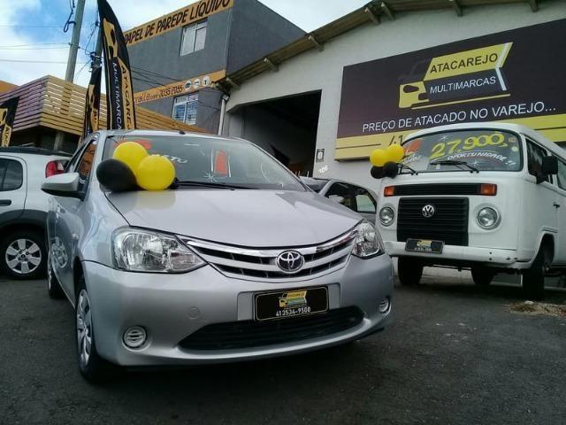 Toyota Etios X 1.3 FLEX 16V 5P Mec 2015