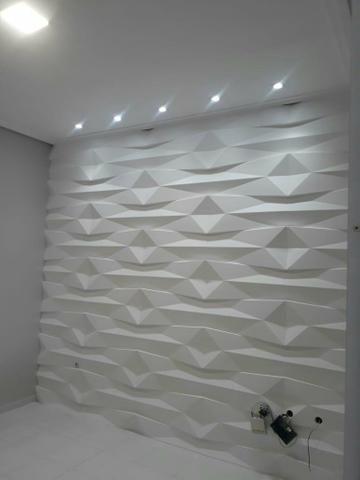 Promoção de gesso Liso e parede 3D - Foto 5