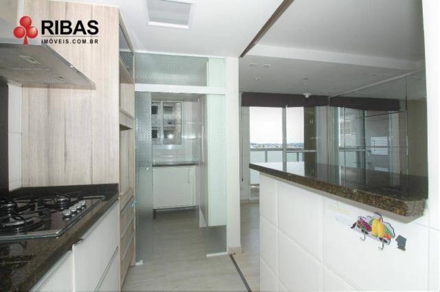 Apartamento com 3 dormitórios para alugar, 78 m² por r$ 2.000,00/mês - capão raso - curiti - Foto 8
