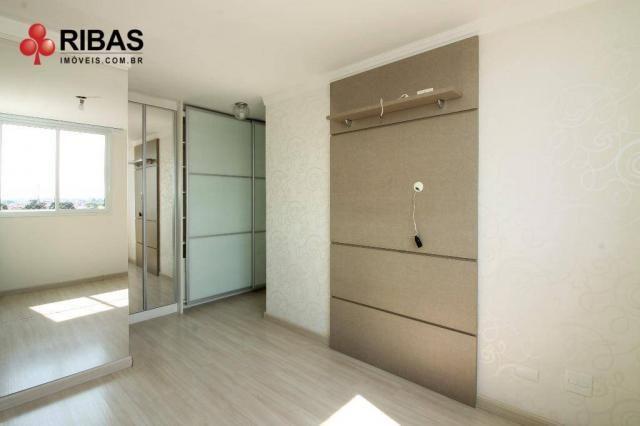 Apartamento com 3 dormitórios para alugar, 78 m² por r$ 2.000,00/mês - capão raso - curiti - Foto 18