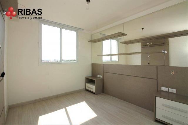 Apartamento com 3 dormitórios para alugar, 78 m² por r$ 2.000,00/mês - capão raso - curiti - Foto 17
