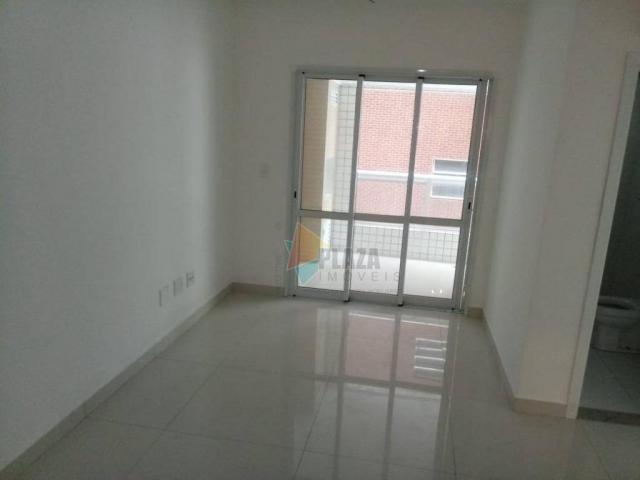 Apartamento com 2 dormitórios à venda, 83 m² por R$ 543.335,00 - Canto do Forte - Praia Gr - Foto 3
