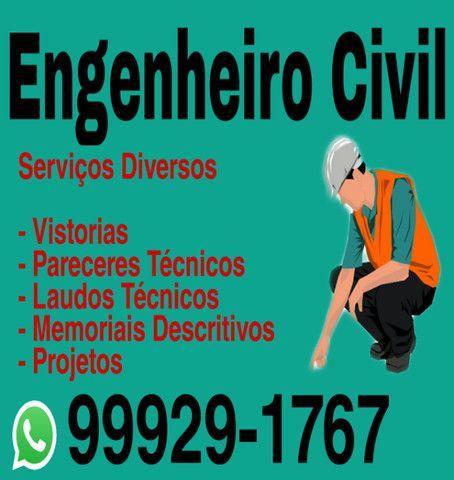 Engenheiro Civil - Serviços Diversos / ART