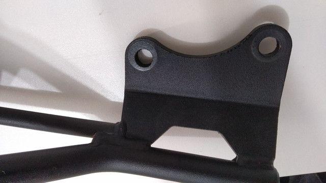 Bagageiro em Aço Givi Yamaha Fazer 2006 a 2017 - Foto 3