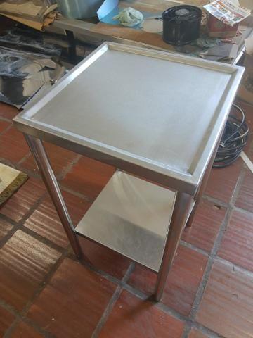 10x SEM JUROS* Coifas, mesas, pias, bancadas em inox - Foto 5