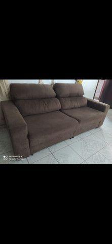 Sofá  de 2 lugares semi novo  - Foto 2