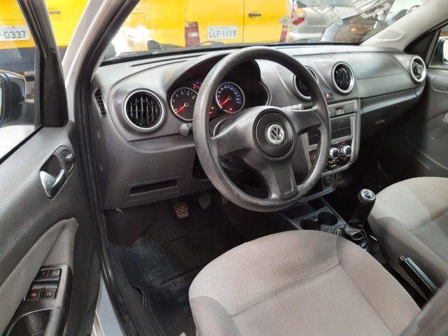 Volkswagen Voyage 1.6 Trend 4p Flex 2009 Prata Completo Muito Novo Doc OK - Foto 8