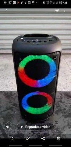 Caixa de Som Bluetooth Kts Leds rgb - Foto 3