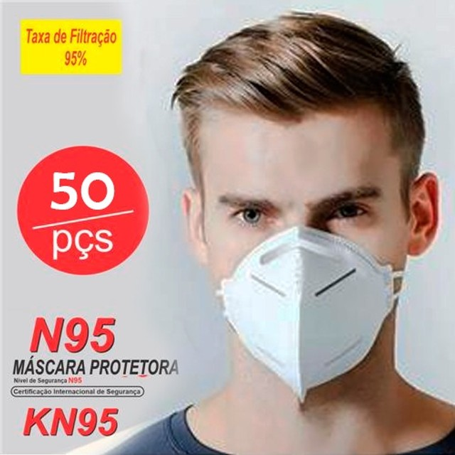 kn95 preta - Foto 2