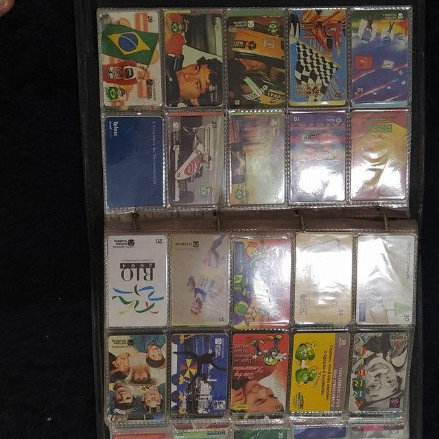 Coleção de cartão telefônico - Foto 5