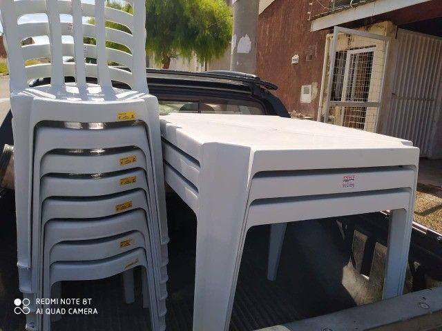locação de jogos de mesas e cadeiras - Foto 3