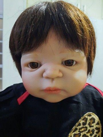 Bebê Reborn Menina de Silicone - Bebê Reborn Realista<br>