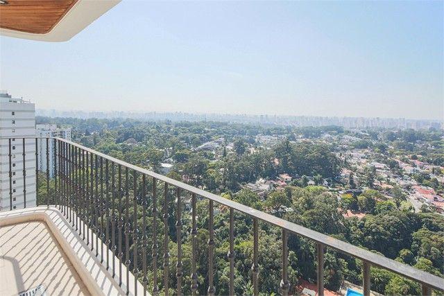 Apartamento para alugar com 4 dormitórios em Alto da boa vista, São paulo cod:REO385560 - Foto 8