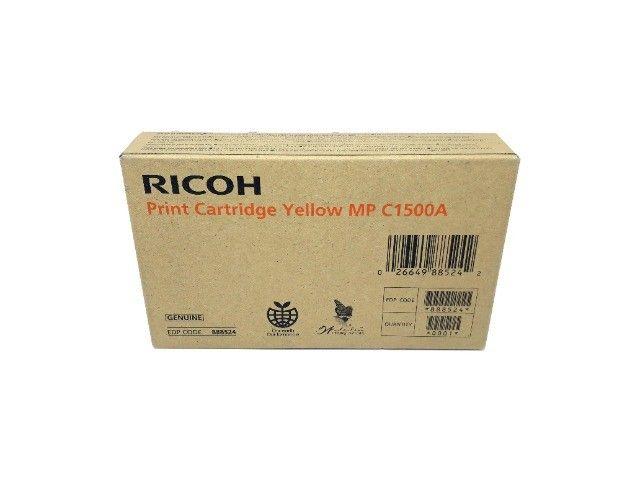Cartucho de Toner Ricoh C1500A / 888524 Yellow Original Novo