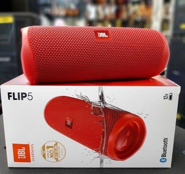 Caixa de Som Portátil JBL Flip 5 - À prova D`Água - Bluetooth - 20W - Foto 4