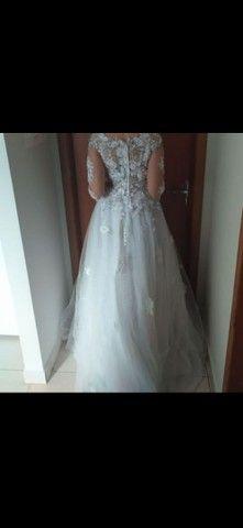 Vendo vestido de noiva. - Foto 2