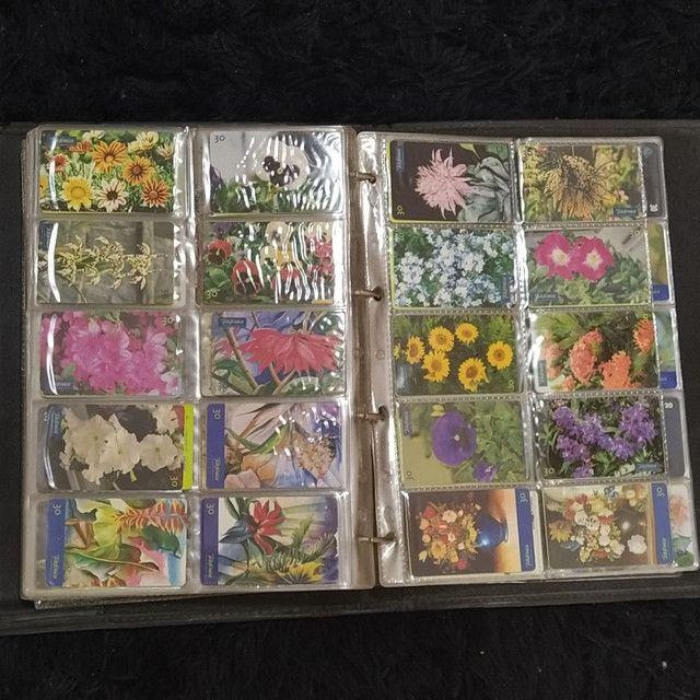 Coleção de cartão telefônico - Foto 4