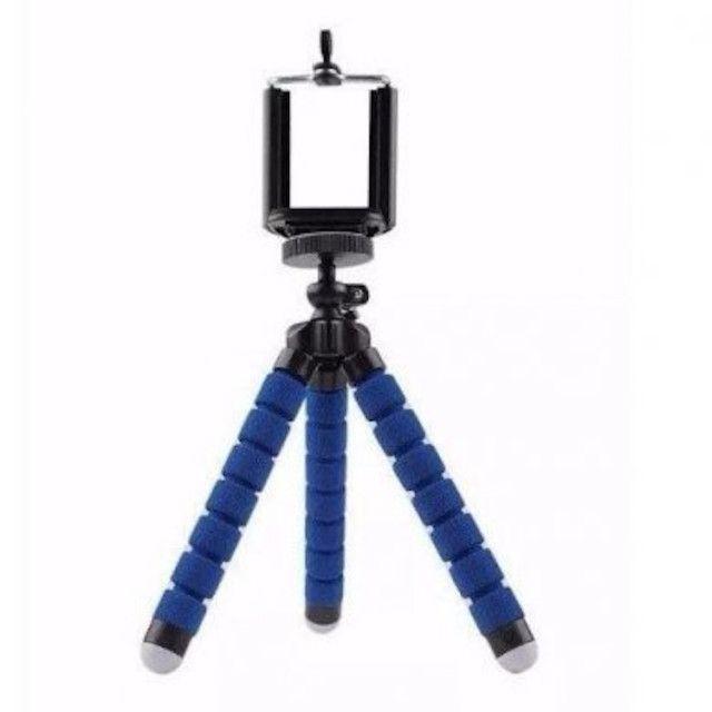 Tripé Suporte Flexível  Para Celular Camera MiniPod Selfie
