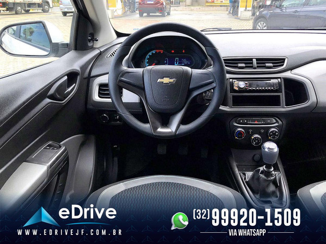 Chevrolet Onix LT 1.0 Flex 5p Mec. - Completo - Financio - Novo - Troco - Uber - 2015 - Foto 11
