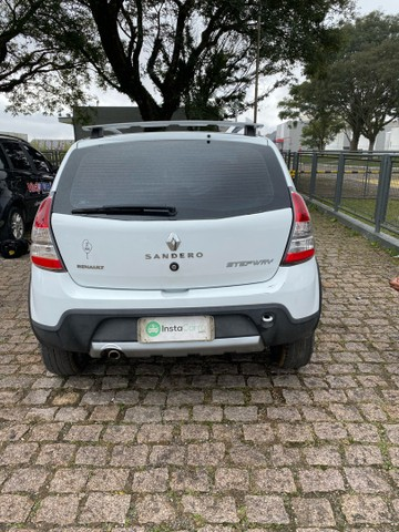 Renault Sandero Stepway 1.6 16v automático 2013/2013 branco - Foto 6