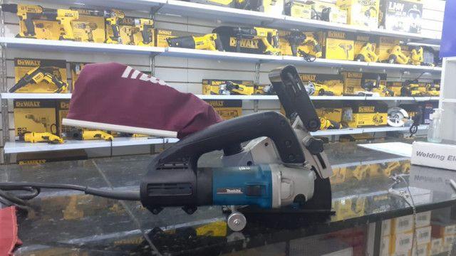 Máquina De Cortar Parede Cortadora Manual Makita Sg1250 220v preço imperdível - Foto 2