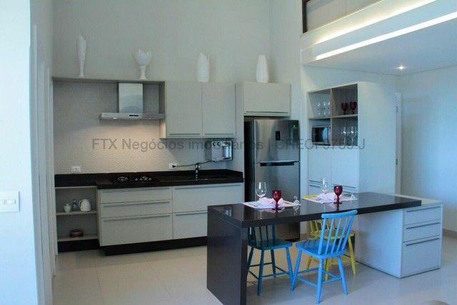 Lindo Flat mobiliado e decorado - Cobertura - Santa Fé - Foto 17