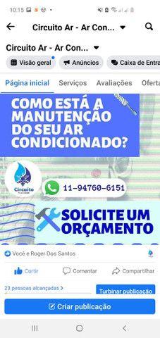 *Instalação e manutenção de ar condicionado .fazemos serviços predial  - Foto 2
