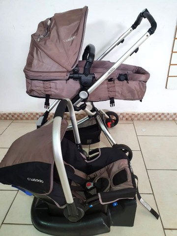 carrinho moises kiddo Eclipse BB conforto e base  - Foto 5