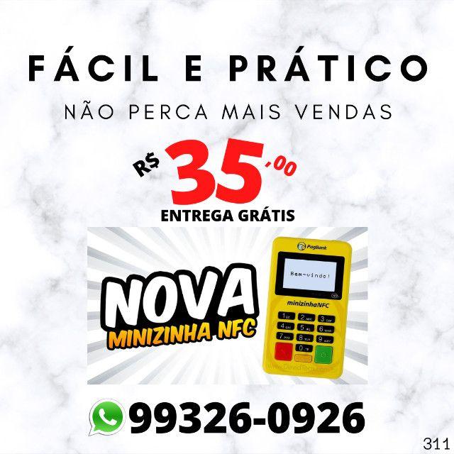 Minizinha Nfc Maquininha de cartão (entrega grátis)