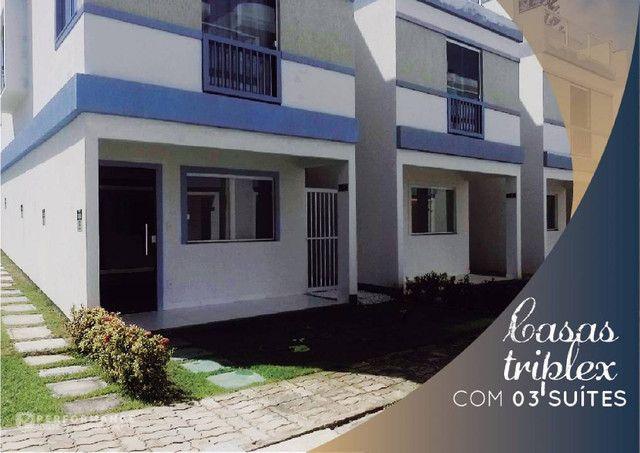Casa Triplex para venda Com 134 metros quadrados com 3 Suítes em Itapuã - Salvador - BA