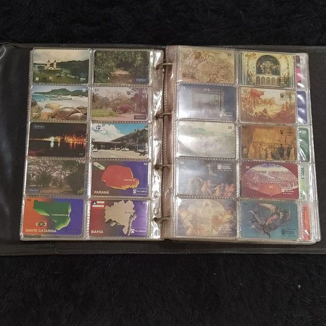 Coleção de cartão telefônico - Foto 2