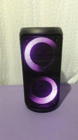 Caixa de Som Bluetooth Kts Leds rgb - Foto 4