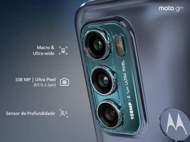 Moto G60 128GB 6Gb de RAM 108Mpx de câmera promoção - Foto 2