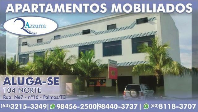Apartamentos Mobiliados Azzurra Centro de Palmas