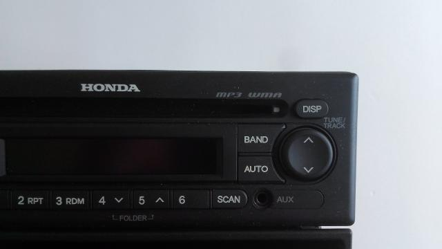 Rádio original Honda Fit 2010