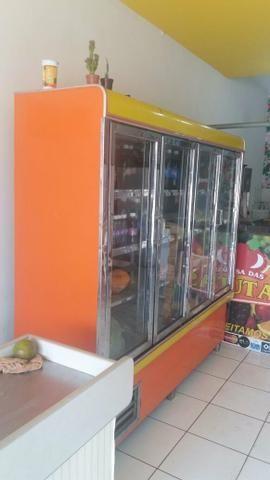 Freezer horizontal 4 portas