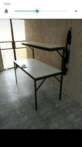 Bancada escritório ou área técnica e/ou laboratório manutenção