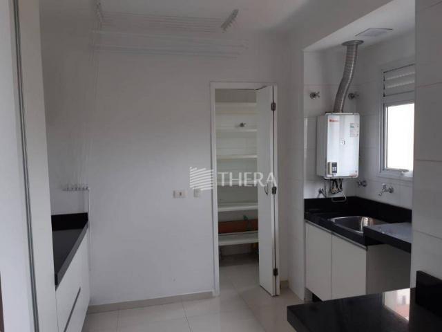 Apartamento com 3 dormitórios para alugar, 135 m² por r$ 5.000/mês - vila léa - santo andr - Foto 8