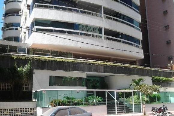 Ed Acapulco-3 Quartos-Mobiliado-2ª quadra do mar-Lazer completo