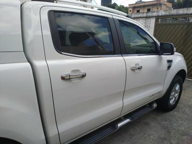 Vendo ou Troco Ranger Limited 13/14 Diesel - Foto 6