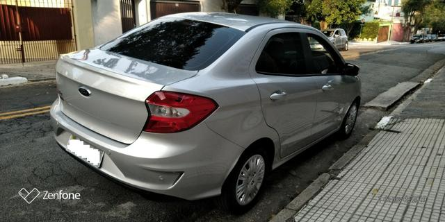 Ford Ká 1.5 SE Plus Sedan - Automático - Prata 2019-(Único Dono) - Foto 6