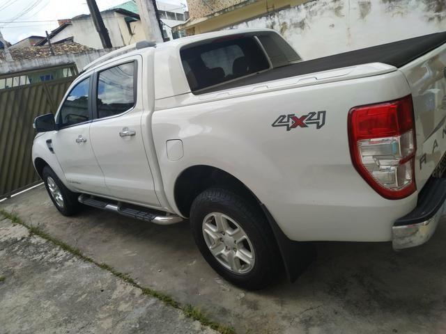 Vendo ou Troco Ranger Limited 13/14 Diesel - Foto 8