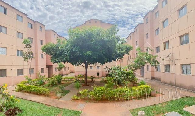 Apartamento 02 quartos - Ao lado da estação de metrô Samambaia - R$ 120.000,00