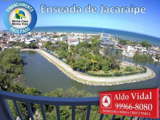 ARV 166- Apto 2 Q, Varanda,Suíte,Piscina em Jacaraipe próximo a praia - Foto 3