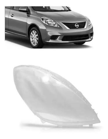 Lente Farol Nissan Versa 2011 2012 2013 2014 Direito