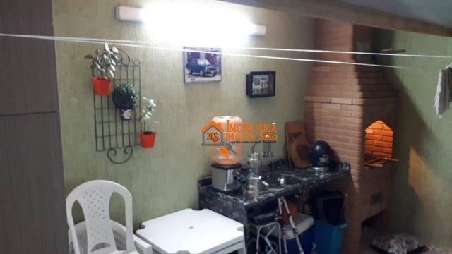 Sobrado com 3 dormitórios à venda, 147 m² por R$ 650.000,00 - Jardim Imperador - Guarulhos - Foto 19