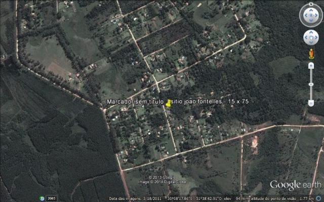 Terreno à venda em Parque eldorado, Eldorado do sul cod:LU261207